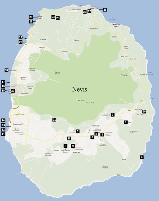 Vervain Mill - Vacation Destination - Nevis, West Indies